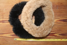 sheepskin toy ring