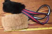 sheepskin toy tug